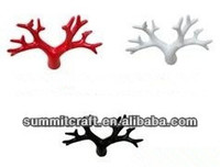 Antique color resin artificial deer antlers