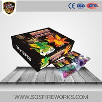 Wholesale Consumer Novelty Pyro 24/24/6 Dragon Eggs Toy Fireworks