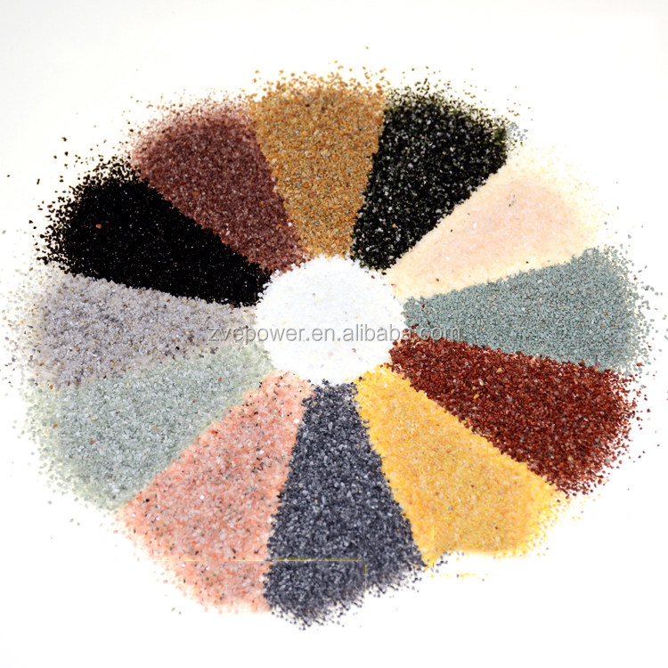 Color Pebbles/Natural colored stone/color stone white pebble tile