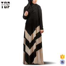 Islamic clothing wholesale long sleeve latest design muslim dress malaysia