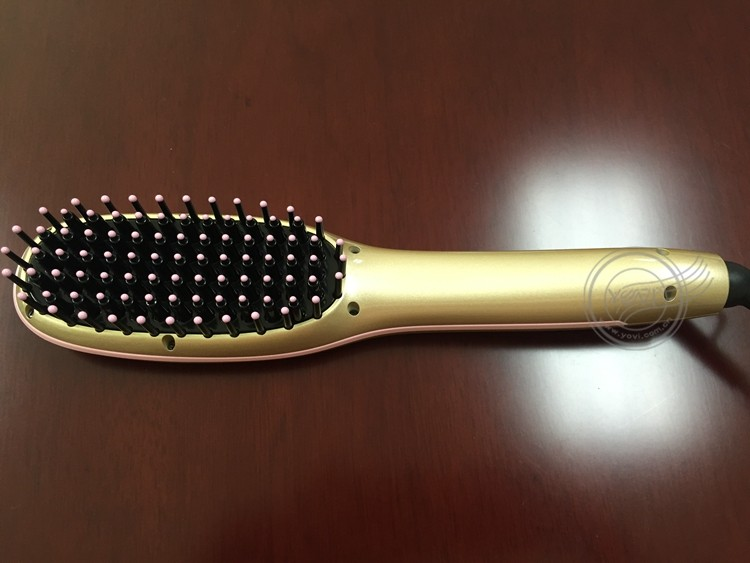 High Quality Straightening Comb LCD Display Electric Hair Brush