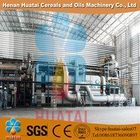 Huatai 2015 Waste Tire Pyrolysis Machine to Oil with Safe Device and Water Cooling System