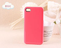 Hot Selling Colorful Candy Color Plastic Hard Case For iphone4/4s