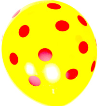 #cute dots# 50 pcs <strong>12</strong>-inch 2.5g dot printed good quality party decoration colorful balloon