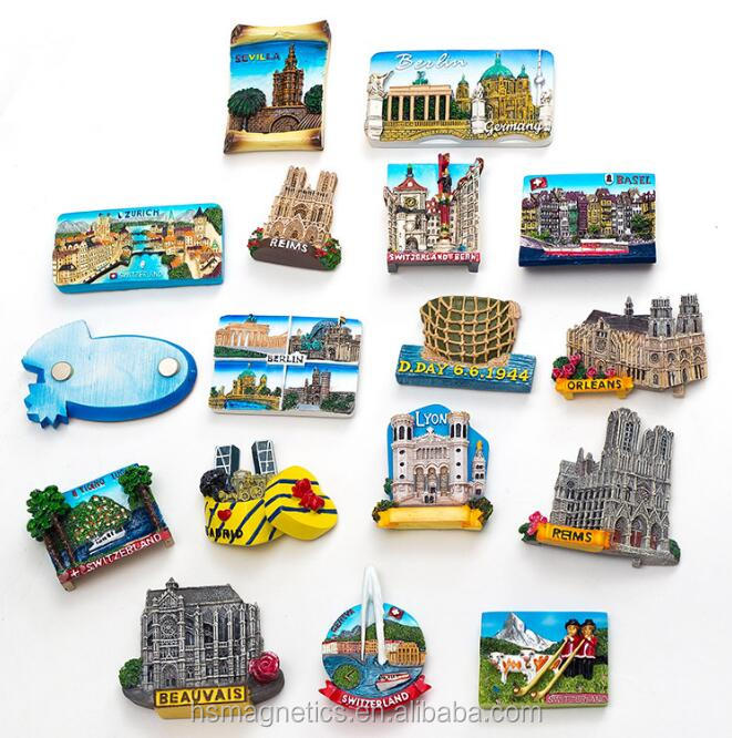 2017 new style tourist souvenir fridge magnet resin fridge magnet Souvenir gift Home Decor