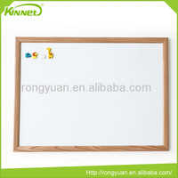 Portable multi usage home decoration custom wooden framed white board