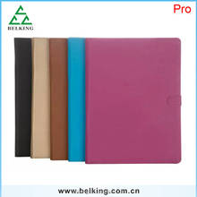For Ipad Pro New Design Pen Rope Stand Holder Case ,For iPad pro Flip Leather Case