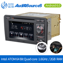 Android 6.0.1 Car DVD Player for Audi A3 GPS Navigation System with Carplay Bluetooth Dual-zone Navi