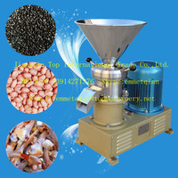 nut butter grinding machine/ low price peanut butter making machine