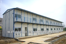 two-storey steel structure living quarters / dormitory / shed
