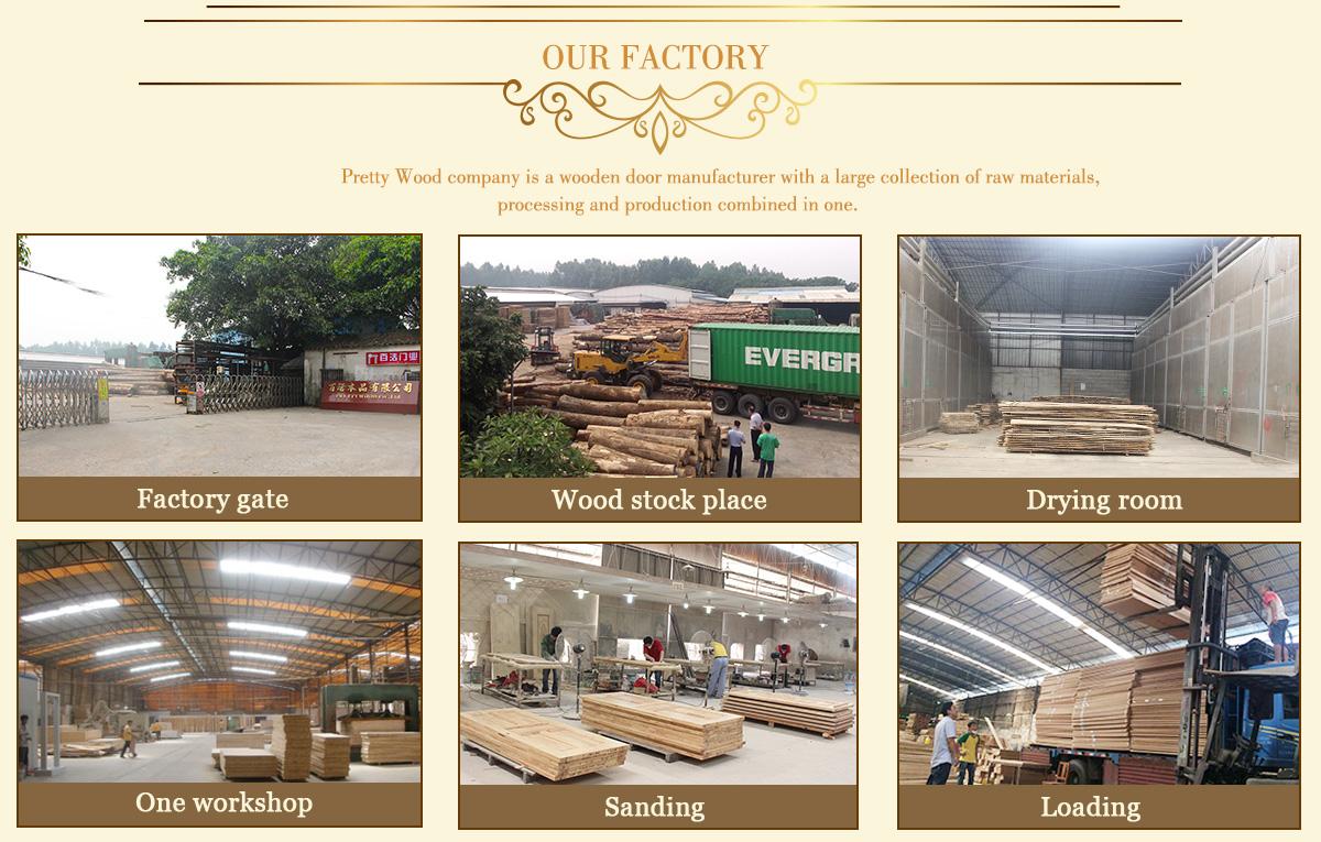 Foshan Nanhai Prettywood Co., Ltd. - Wood Product (Solid Wood Door ...