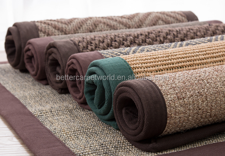 Outdoor Indoor Whole Sale High Quality Factory Cheap Sisal Flooring Carpet