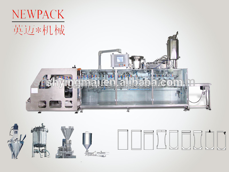Sales Promotion! Horizontal Form Fill Seal Food Packing Machine