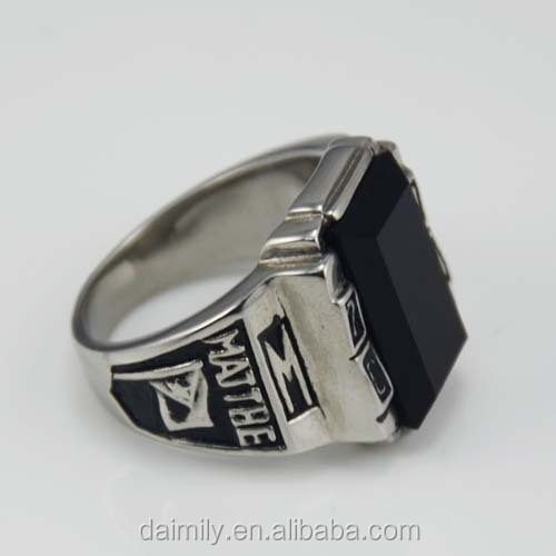 Steel Unique Jewelry 2010 year commemorate man Ring