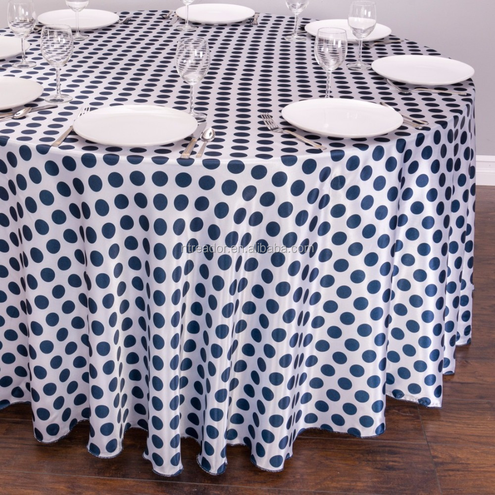 event satin tablecloth