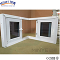 Cheap price modern house pvc window sliding window with mosquito net