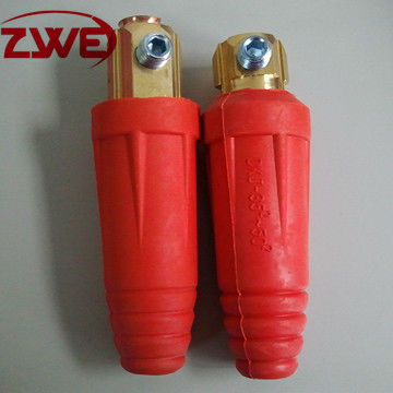 Euro Type Red Welding Cable Joint DKL35-50
