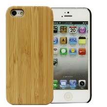 Luxury handmade hard platic blank case wood cover for apple iphone 5s