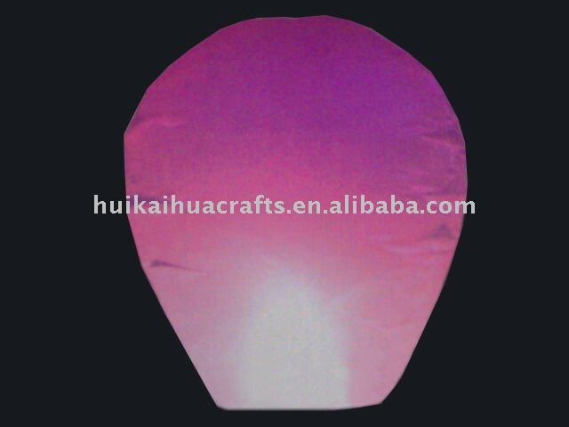 Most popular wishing sky lantern/Chinese flying crafts lantern