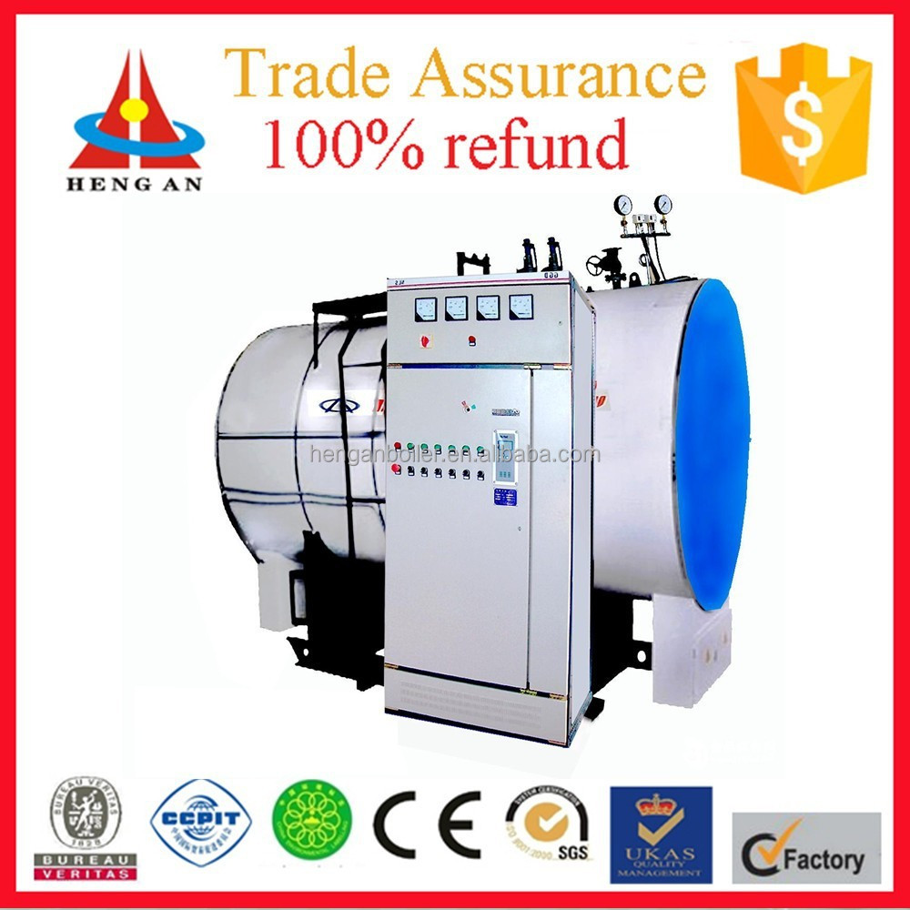 CE ISO BV certificate factory price small industrial fire tube electric steam boiler for food industries for sale
