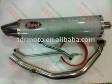 pit bike parts/muffler/exhaust pipe