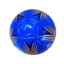 BALONES DE FUTBOL Synthetic Leather blue promotional football ball inflatable mini soccer ball size 2