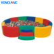 Baby soft daycare ocean ball pool sea ball pool for kids