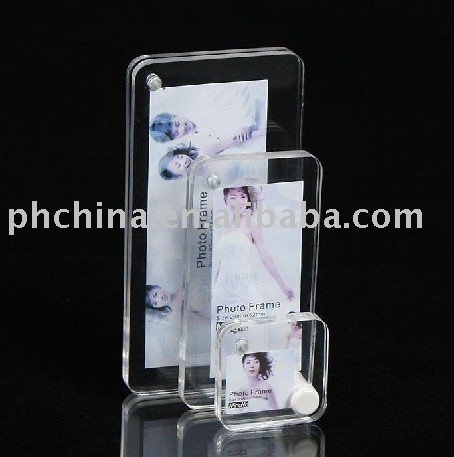 Crystal top grade Wedding Pictures Frame,Shining Plastic Photo Frames for Wedding Gift