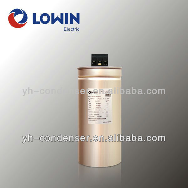 Self-healing AC Low Voltage Shunt Power Capacitor 220V (mkp)
