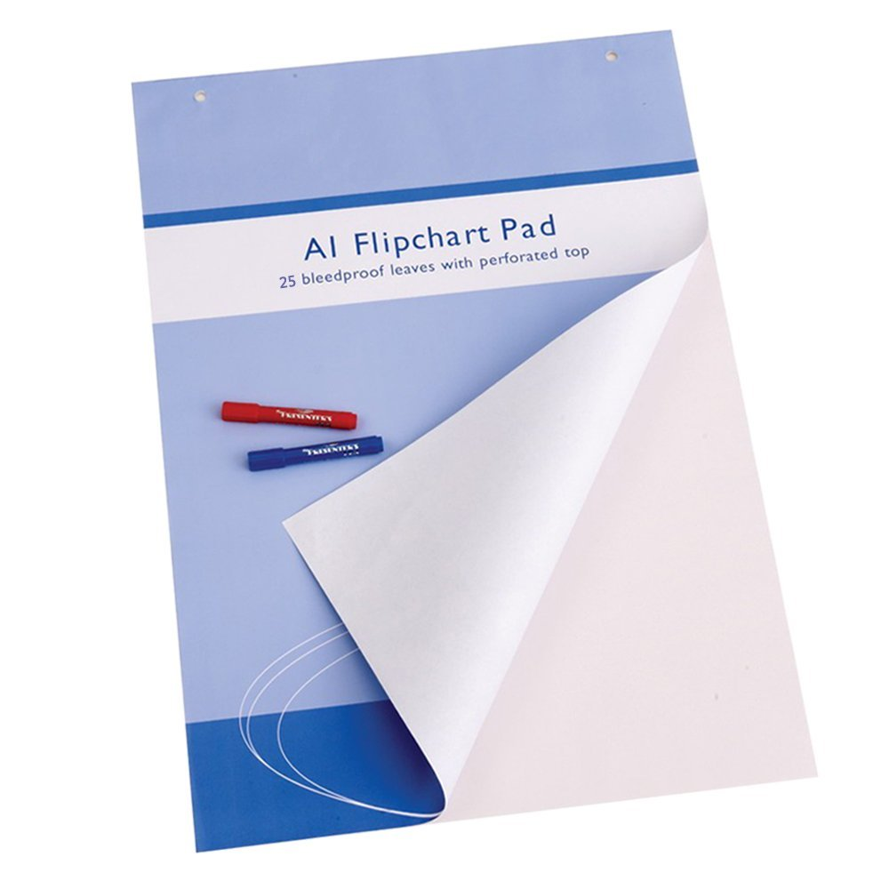 Viz-pro Standard Easel Pads, <strong>A1</strong> Flipchart Paper Pad, 23 X 32 Inches, 25-sheets/pad
