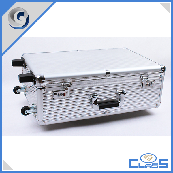 high quality grooming aluminum tool case tool box travel flight case