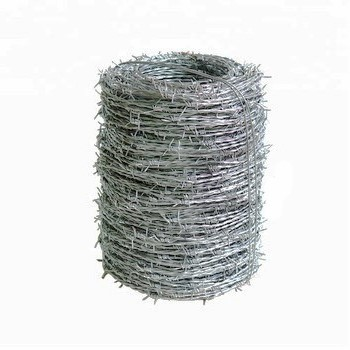 2018 Alibaba Hot Dipped Galvanized Barbed Wire Price Per Roll