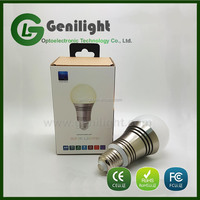 Bluetooth LED Bulb light with White+RGB Color