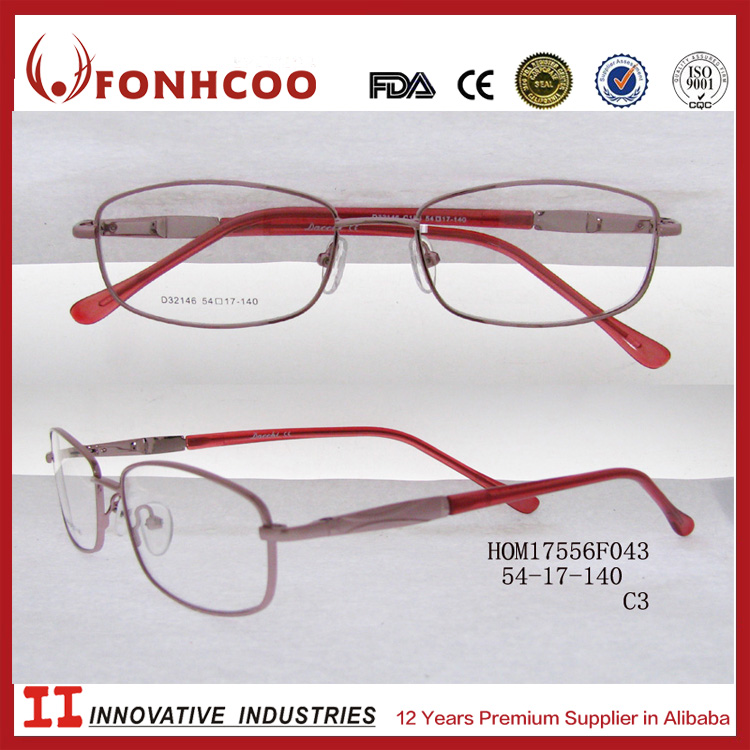 FONHCOO Alibaba Distributors Lady Classic Designs Full Rim Optical Frames For Sale