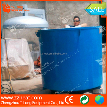 Metal scrap melting pallet type resistance furnace