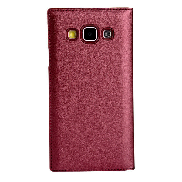 Factory Price PC PU Leather Battery Cover Case for Samsung Galaxy A3 SM-A300F A3000