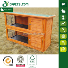 DFPets DFR038 2 Story Water-resistant Rabbit Hutches