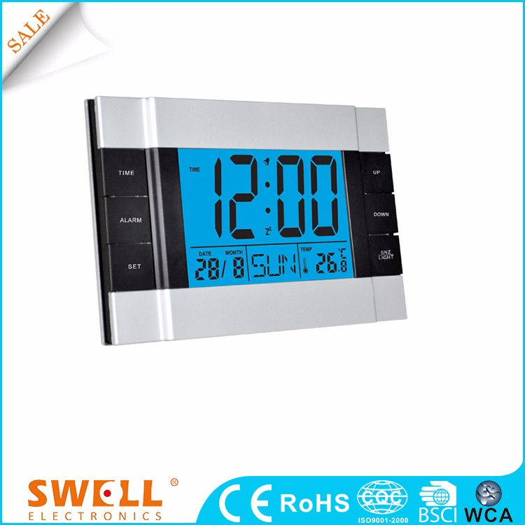hot sale fashion design colourful wall mount alarm clock french style