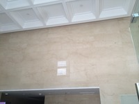 Hotel Beige Marble Flooring and walling Tile Project