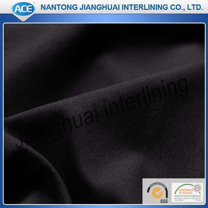 Polyester woven resin interlining/adhesive interlining fabric for suits