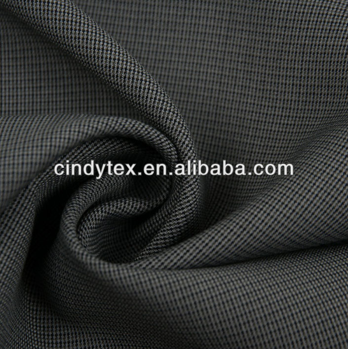 85/15 yarn dyed polyester/rayon fabric