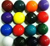 Wholesale High Quality Colorful Mini Golf Balls Training Pratice Golf Ball with Two Layer