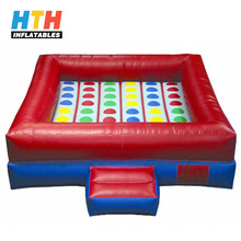 China Made adults inflatable twister sport games for sale