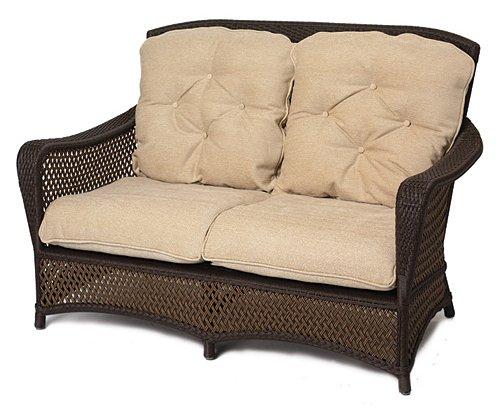 Rex all weather mimbre 2 plazas sof muebles de mimbre sof s de jard n identificaci n del - Sofa de mimbre ...