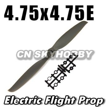 4.75*4.75 new design rc wooden electric propeller