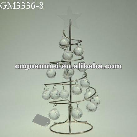 regalo de navidad la novedad del producto espiral de alambre de metal rbol de navidad buy product on alibabacom