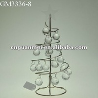 Christmas novelty product spiral metal wire christmas tree