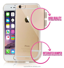 Trending Mobile Phone Case! Ultra-thin plastic transparent TPU Mobile Phone Case for iPhone 6/6s plus!