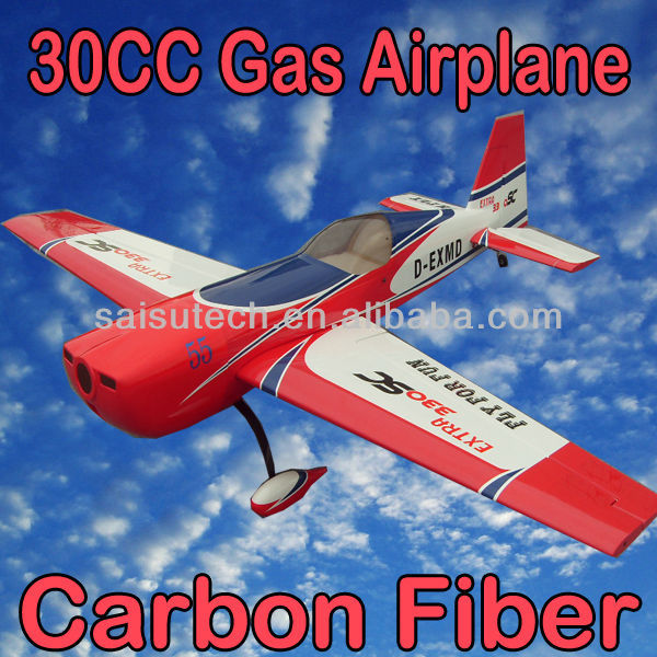 gas engine rc airplane model EXTRA330 30CC china model production rc airplane OEM