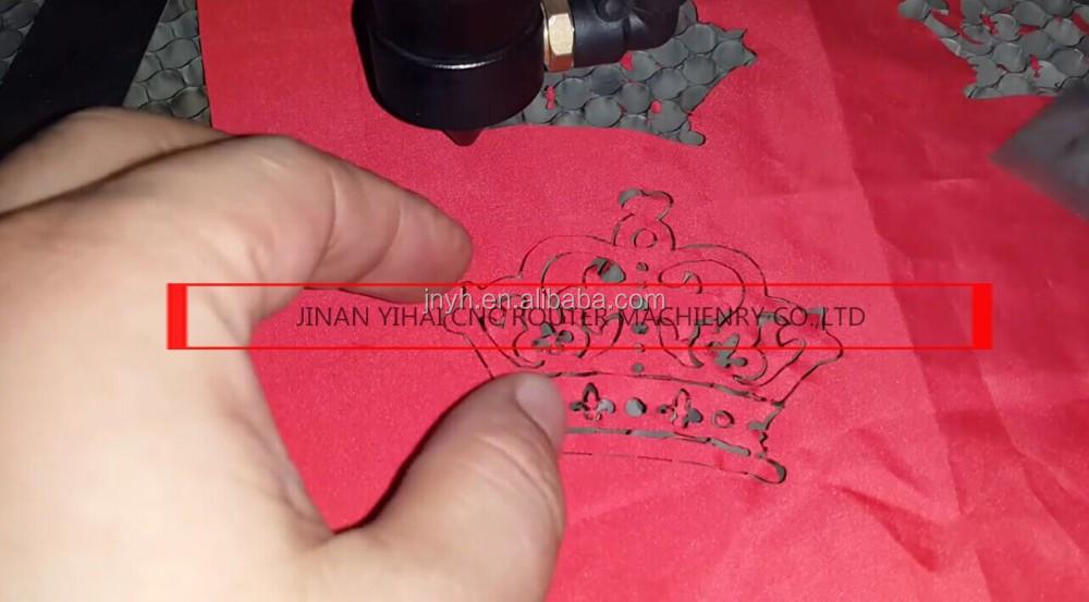 souvenir screen protector case iphone 6 cnc laser cutting machine YH-6090